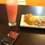 Photo taken at Bright Cafe SPBU Sukun Banyumanik by Bernadette W. on 8/31/2012