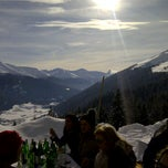Photo taken at Schatzalp Panorama Restaurant by noel h. on 1/29/2012