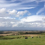 Photo taken at Dunstable Downs by miyuki i. on 8/4/2012