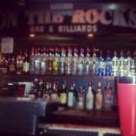 Photo taken at On The Rocks Bar by Jennie G. on 7/15/2012