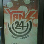 Photo taken at YANS 24 Music Studio by Adry C. on 7/29/2012