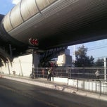Photo taken at Metro Rojas Magallanes by Isaias G. on 2/16/2012