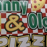 Photo taken at Manny & Olga's Pizza by Andrew on 4/20/2011