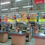 Photo taken at Mateus Supermercado by Daniel S. on 1/5/2012