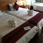 Photo taken at Chaba Samui Resort by Valentine M. on 7/19/2012