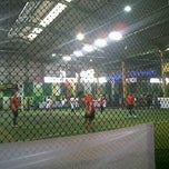 Photo taken at Planet Futsal by putri l. on 5/5/2012