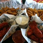 Photo taken at Wingstop by Shelley N. on 9/4/2012