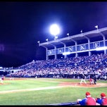 Photo taken at George M. Steinbrenner Field by Laura F. on 3/31/2012