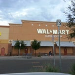 Photo taken at Walmart Supercenter by Tony on 9/8/2012