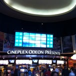 Photo taken at Cinéma Cineplex Odeon Ste-Foy by Raphael P. on 6/25/2011