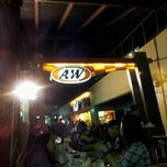 Photo taken at A&W Restaurant by I GD MAHENDRA E. on 1/5/2012