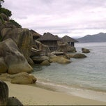 Photo taken at Six Senses Ninh Van Bay by Joe W. on 11/6/2011
