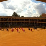 Photo taken at Plaza de Toros de Ronda by Asun R. on 9/3/2011