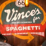 Photo taken at Vince's Spaghetti by Larry L. on 5/13/2012