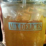 Photo taken at Aux Delices by maria h. on 1/25/2012