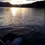 Photo taken at Merwin Lake by Neil M. on 9/25/2011