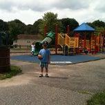 Photo taken at Springside Park by Rebecca G. on 8/9/2011