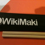 Photo taken at WikiMaki by Rafaela N. on 3/8/2012