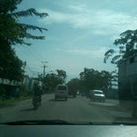 Photo taken at Jalan Medan-Binjai by Fandika K. on 7/25/2012