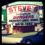 Photo taken at Steve's Burgers by Amber R. on 12/23/2011