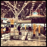 Photo taken at Stuttgart Airport Manfred Rommel (STR) by Farad A. on 9/12/2012