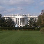Photo taken at The White House Southeast Gate by Daryl M. on 10/23/2011