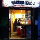 Photo taken at Gusto Taco by Aaron S. on 8/22/2011