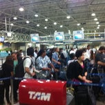 Photo taken at TAM Check-in by Bayard T. on 9/8/2011