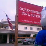 Photo taken at Ocean Shores Inn And Suites by WeeHawk S. on 7/13/2012