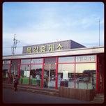Photo taken at 목감휴게소 by HyunChang K. on 7/31/2012