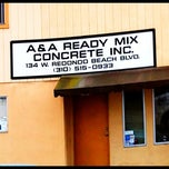 Photo taken at A & A READY MIX CONCRETE INC by TONY A. on 12/20/2011