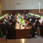Photo taken at Bibliothèque Cujas by Ghazal H. on 5/2/2012