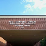 Photo taken at McIntyre Library by Santiago D. on 7/13/2012