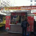 Photo taken at La Jarochita Mexican by Aron B. on 4/19/2012