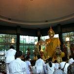 Photo taken at ลานธรรม วัดสังฆทาน by UnspecialMe N. on 9/2/2012