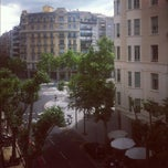 Photo taken at Casp apartment Barcelona by Cristina N. on 6/4/2012