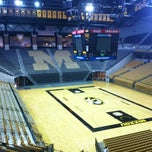 Photo taken at Mizzou Arena by Taylor H. on 8/16/2012