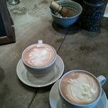 Photo taken at Vienna Espresso Bar & Bakery by Lisa E. on 5/18/2011