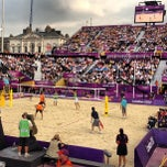 Photo taken at London 2012 Horse Guards Parade by Dens on 8/9/2012