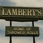 Photo taken at Lambert's Cafe by Rebecca C. on 6/13/2012