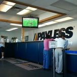 Photo taken at Payless Car Rental - Denver (DEN) by Ted H. on 9/11/2011