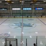 Photo taken at Sharks Ice at San Jose by Dave C. on 8/19/2012