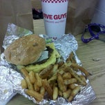 Photo taken at Five Guys by Raven on 7/2/2011