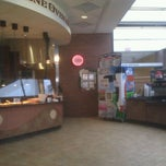 Photo taken at Shumway Dining Commons by Joe S. on 1/22/2012