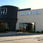Photo taken at Autopark Honda by Tim M. on 11/12/2011