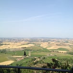 Photo taken at Dei Capitani Hotel Montalcino by Paul B. on 7/1/2012