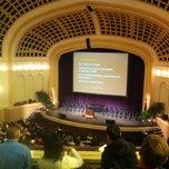 Photo taken at Macky Auditorium by Emily S. on 5/11/2012