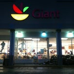 Photo taken at Giant Food by Jason H. on 1/21/2012