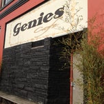 Photo taken at Genies Cafe by Grace B. on 2/11/2012