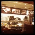 Photo taken at カフェクロワッサン 札幌アピア店 by Fujisan on 5/19/2012